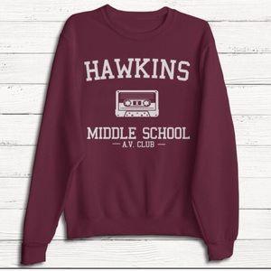 Sweaters - Hawkins middle school sweater - stranger things